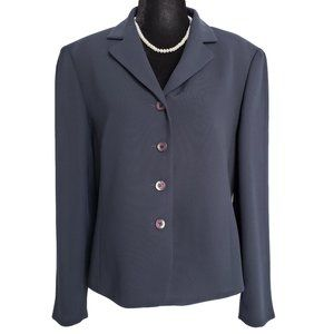 Navy Blue PROPORTION PETITE Career Blazer 14P